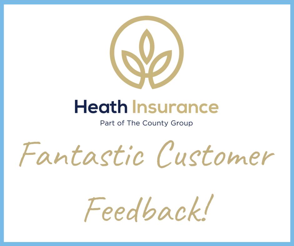 Heath Insurance Great Customer Feedback!